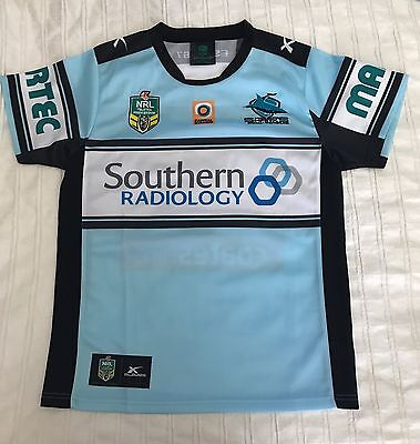 Cronulla Sharks Supporters Replica Jersey Size 2XL