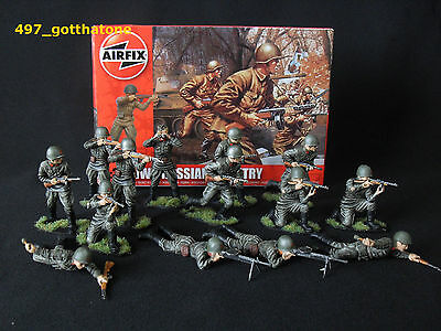 Airfix 1/32 Russian Infantry professionally painted.full set x 14/ 54mm.