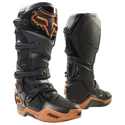 2017 Fox MX Mens Instinct Race Boots - Moth Copper Limited Edition Motocross Off