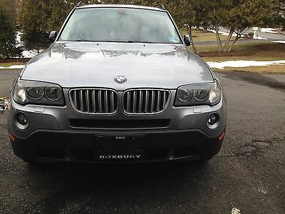 2008 BMW X3  2008 bmw x3 (silver gray metallic with cold package)