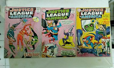 Justice League of America issues #27 32 + 33(DC,1960s)