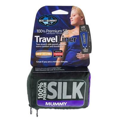 New - Sea to Summit Silk Travel Liner (Mummy)