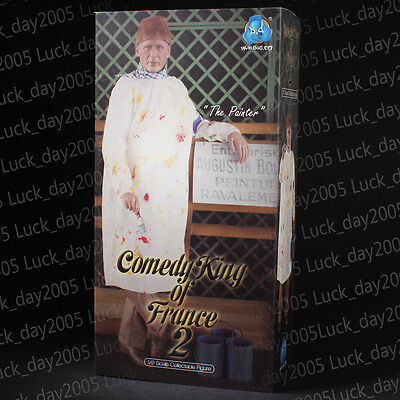 DID WWII Comedy King of France 2 The Painter 1/6 Figure IN STOCK