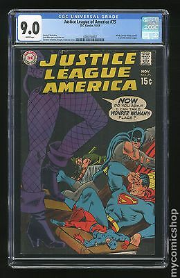 Justice League of America (1960 1st Series) #75 CGC 9.0 0286150002