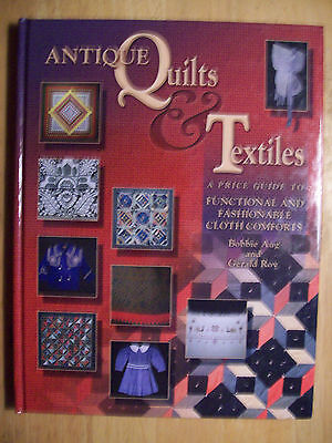 VINTAGE QUILTS $$ id PRICE VALUE GUIDE COLLECTOR'S BOOK