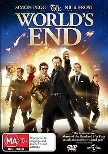 The World's End DVD R2,4