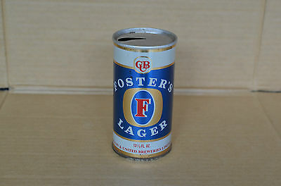 Old Fosters Lager 13 1/3 Fluid Oz Tin Beer Can