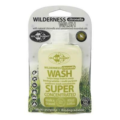 New - Sea to Summit Wilderness Wash Citronella - 89 ML