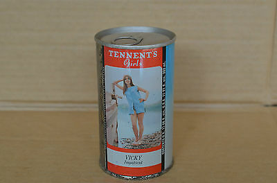 Old Tennents Girls Vicky Lager Beer 333Ml Tin Beer Can