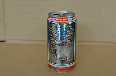 Victoria Bitter Vb 2003 Firefighters Commemorative 375Ml Beer Can