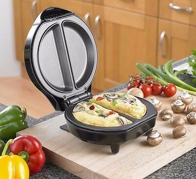 Neo Electric Omelette Maker Non-Stick Egg Frying Pan Cooker - 700W