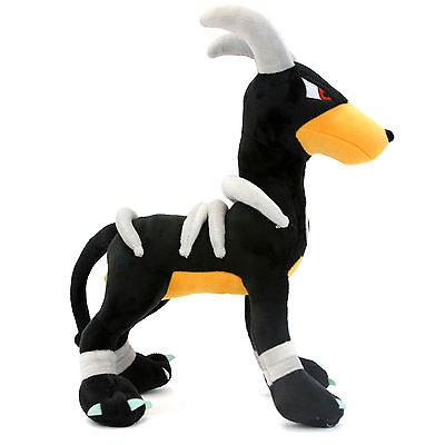 Pokemon Center New Plush Houndoom Cute Stuffed Toy Doll Gift 12Inch