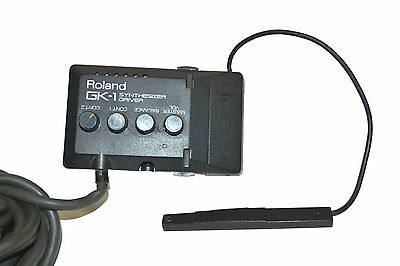 Roland GK-1 Synthesizer Driver & MIDI connector