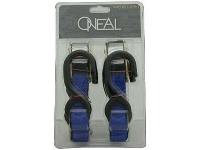 "Oneal Tie Downs 1"" Inch W/ Soft Loop Blue/black"