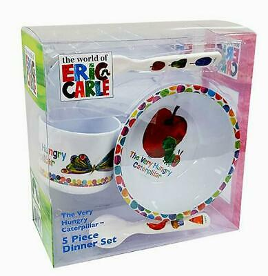 Very Hungry Caterpillar - 5 Pieces Dinner Set Free Shipping!