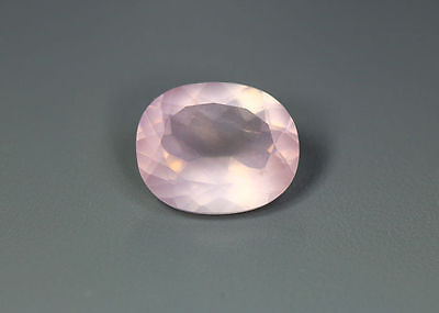 4.20 Cts_World Class Very Rare Gemmy_100 % Natural Rose Quartz Faceted_Brazil