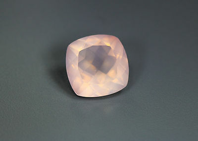 4.46 Cts_World Class Very Rare Gemmy_100 % Natural Rose Quartz Faceted_Brazil
