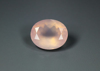 4.75 Cts_World Class Very Rare Gemmy_100 % Natural Rose Quartz Faceted_Brazil