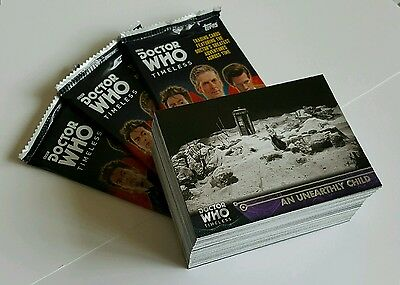 Topps Dr Who Timeless 100 Card Silver Foil Base Set