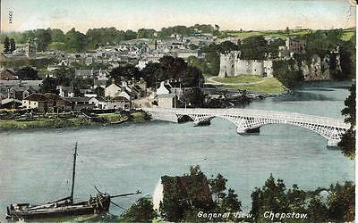 Old Postcard General View CHEPSTOW MONMOUTHSHIRE 1905