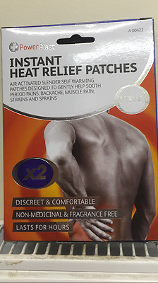instant heat relief patches