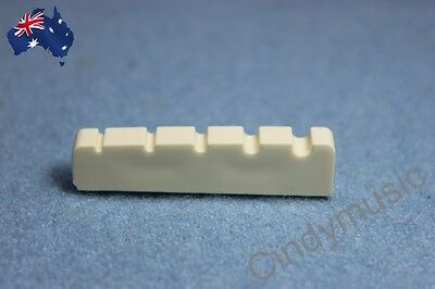 Bass Guitar Nut Slotted Up-Saddle For Electric bass 5 String NEW