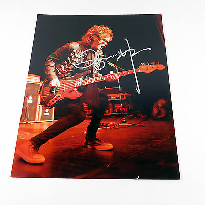 Glenn Hughes Signed 11 x 14 Color Photo Pose #1 Deep Purple Auto