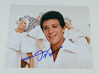 Frankie Avalon Signed 8 x 10 Color Photo Pose #1 Grease Auto