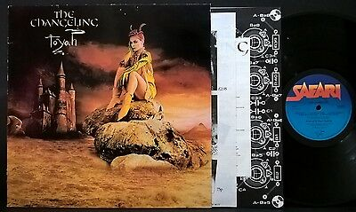 TOYAH The Changeling LP nMINT UK 1982 Safari w/ Inserts vinyl record