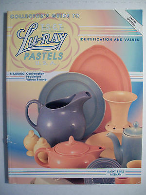 Lu-Ray POTTERY PRICE VALUE GUIDE COLLECTOR'S $$ id BOOK Luray & TS&T