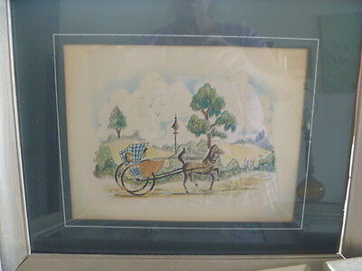 Hand-Painted Illustrations- 30S