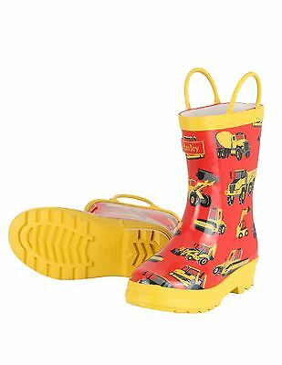 *NEW SEASON* Fab Hatley Heavy Duty Machines Rain Boot Wellington Wellies Boots