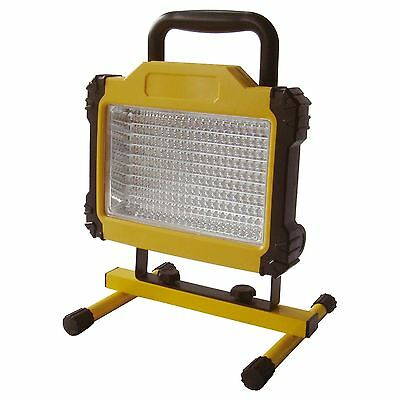 180 LED Rechargeable Cordless Mobile Portable Work Site Flood Light Camping
