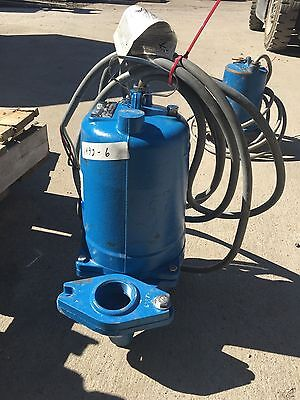 Goulds Itt Submersible Sewage Pump, Ws0534Bf, 1/2 Hp, Rpm 1725, V 460, Used