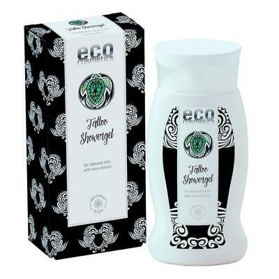 eco cosmetics Tattoo Duschgel 200ml bio vegan Naturkosmetik Tattoopflege Shower
