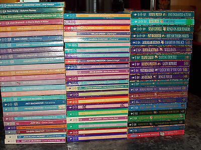 Loveswept lot of 69 assorted authors contemporary romance paperbacks