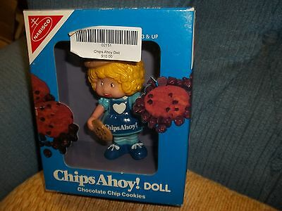 Nabisco DOLL Chips Ahoy Chocolate Chip Cookie Doll 1983 Vintage Toy