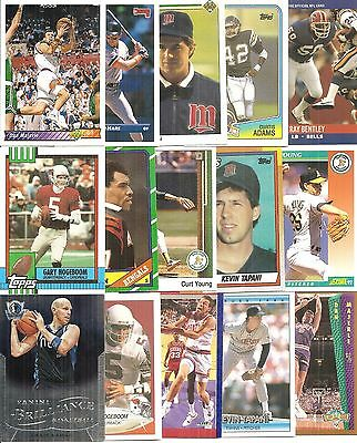 (15) Diff Central Michigan University Chippewas Alumni Cards NODUPES! Majerle