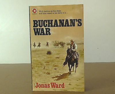 "Vintage Coronet book ""Buchanan's War"" by Jonas Ward"