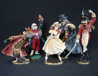 Mixed lot of Nutcracker Suite Character Figurines by Midwest / For Repairs
