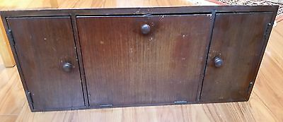 Antique Vintage Singer Sewing Machine Under Cabinet A166876 Pull Down Drawer