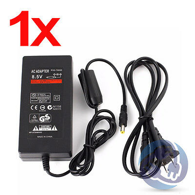 AC Adapter Charger Slim Power Cord Supply for Sony PS2 A/C