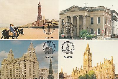 (97573) Postcard Philatelic Counters North West Postal Board NWPB unposted