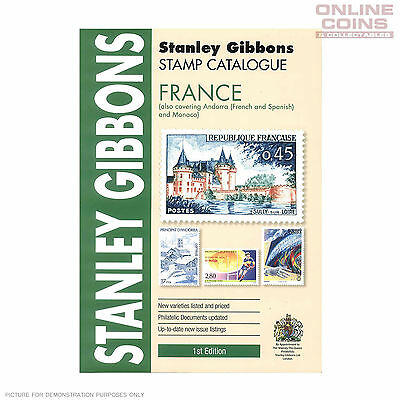 2015 Stanley Gibbons - Stamp Catalogue France Soft Cover Book Part 6 1st Edition