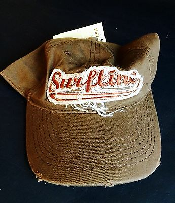 Surfline Distressed Style Surfers Cap/Hat, New With Tags