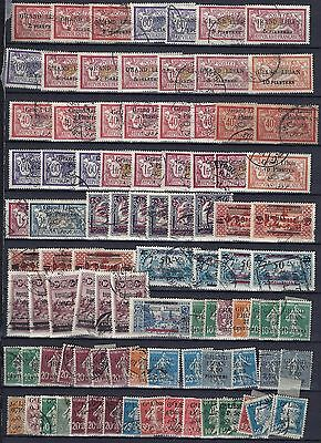 LEBANON 1920's 1960's COLLECTION OF 420 MOSTLY CLASSICS WITH MANY OVERPRINT VARI