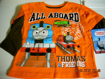 THOMAS THE TANK LONG SLEEVE T SHIRT ( 2T ,3T or 4T) NEW!!!
