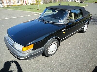 1988 Saab 900 Turbo Convertible 2-Door Classic 1988 SAAB 900 16v Turbo Convertible ~ 5-Speed ~ Loaded ~ Over 100 Photos