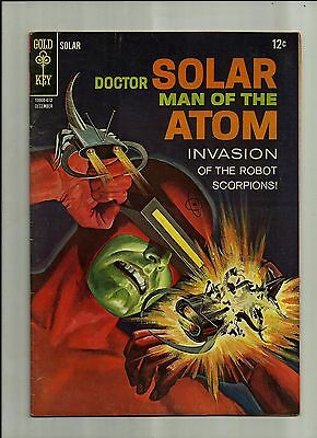 Doctor Solar Man Of The Atom #18 1966  Gold Key Silver Age Comics  Fn+