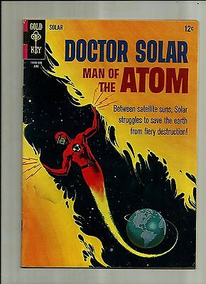 Doctor Solar Man Of The Atom #16 1966  Gold Key Silver Age Comics  Fn+